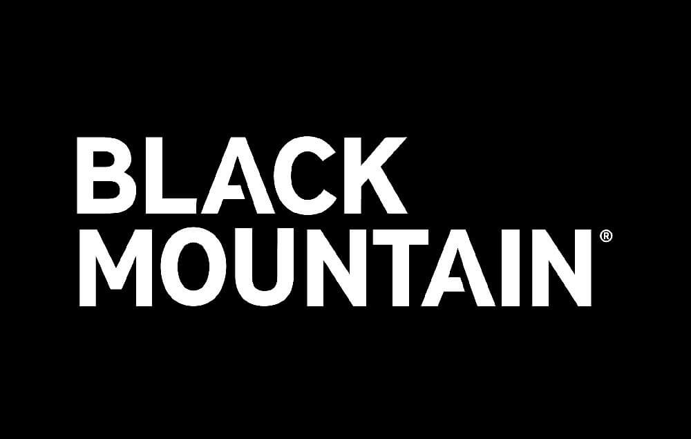 black mountain logo black