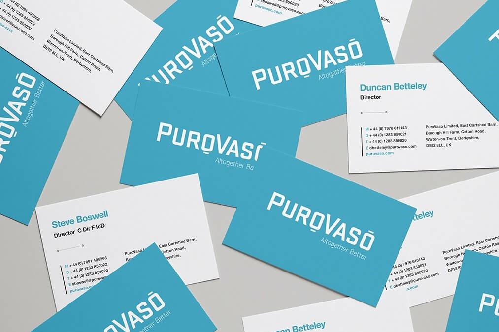 Purovaso Business Cards