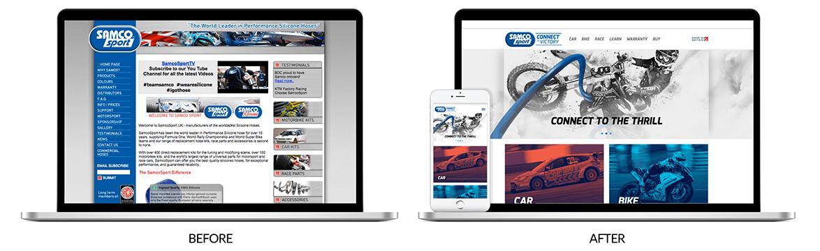 Samco Sport Website