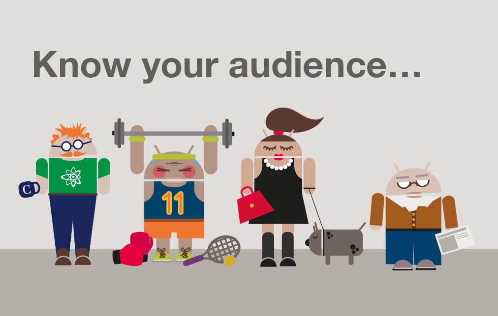 Image result for know your audience'