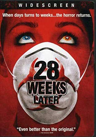 28 Weeks Later DVD cover